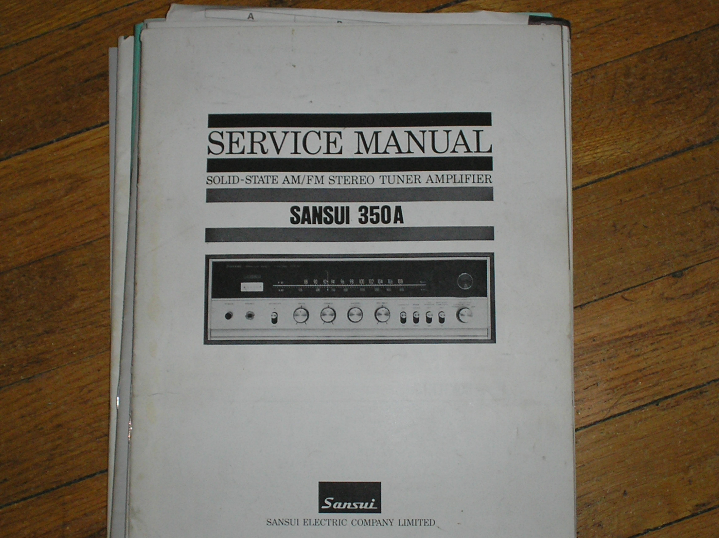350A Tuner Amplifier Service Manual