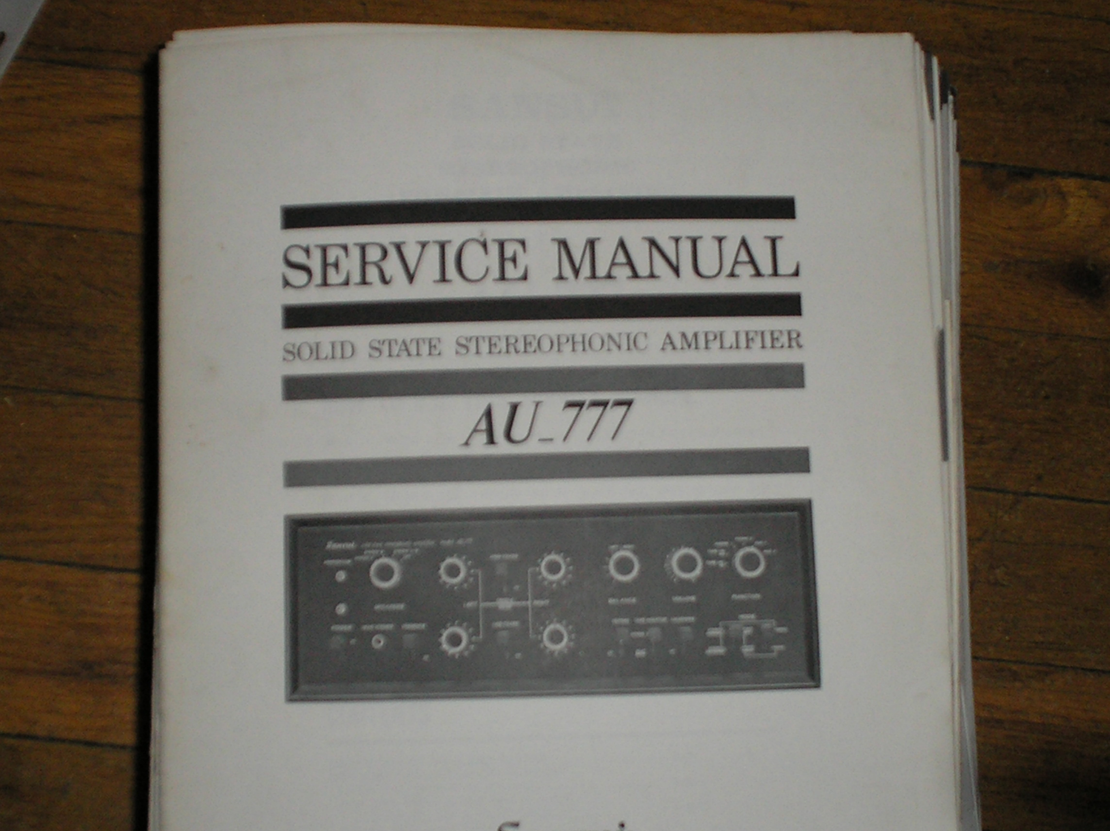 AU-777 Amplifier Service Manual