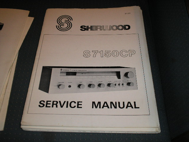 S-7150CP Stereo Receiver Service Manual