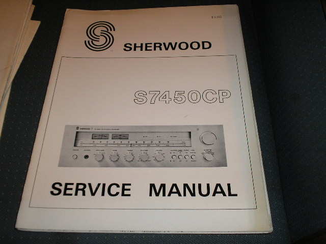 S-7450CP Stereo Receiver Service Manual