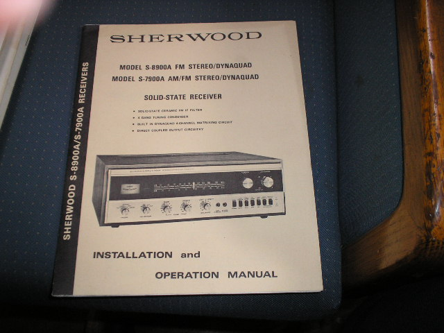 S-7900A S-8900A Receiver Operating and Installation Manual