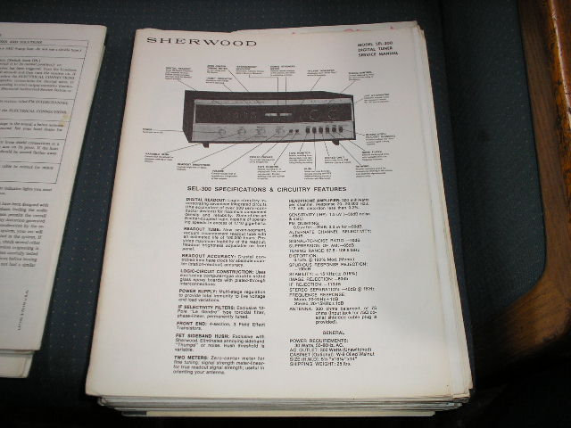 SEL-300 Receiver Service Manual for Serial No.DT21601-DT22126