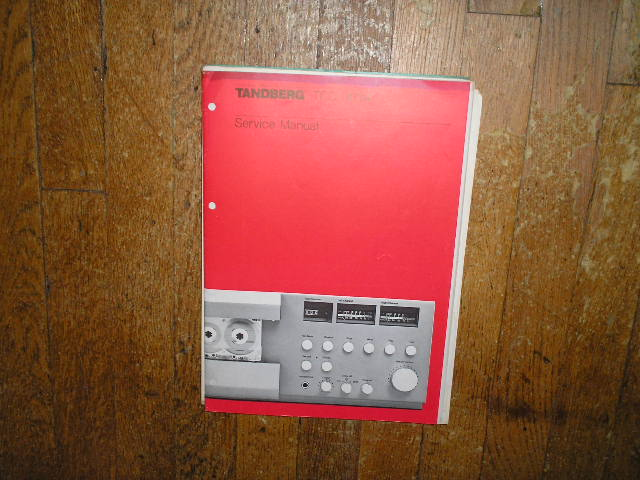 TCD 3034 Cassette Deck Electronic Service Manual with Parts Manual,
