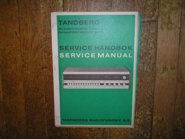 TR-1000 TR-1010 Receiver Service Manual