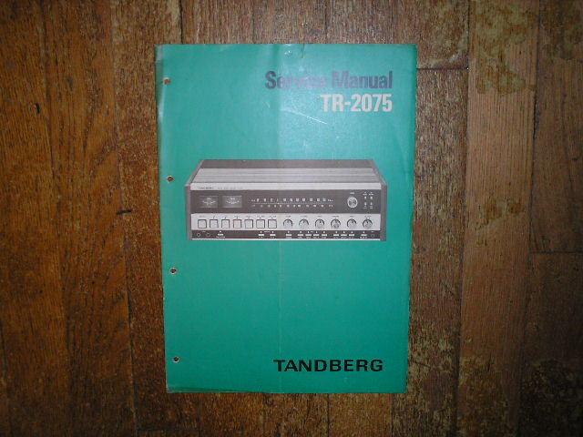 TR-2075 Receiver Service Manual