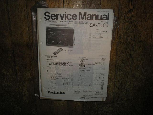 SA-R100 Receiver Service Manual