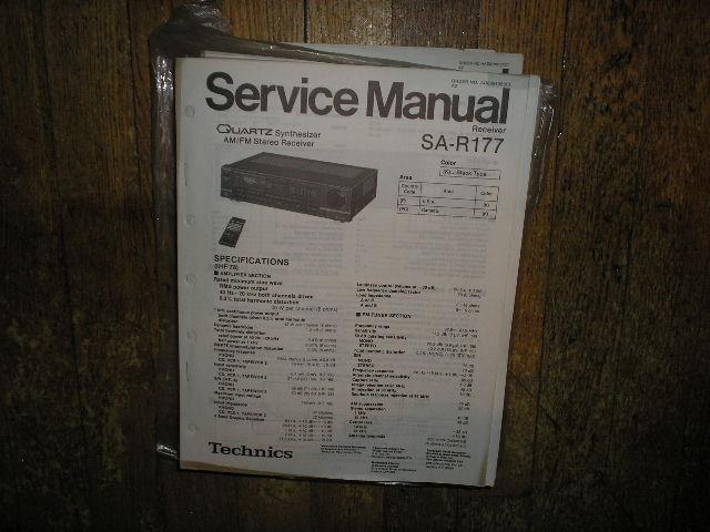 SA-R177 Receiver Service Manual
