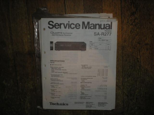 SA-R277 Receiver Service Manual