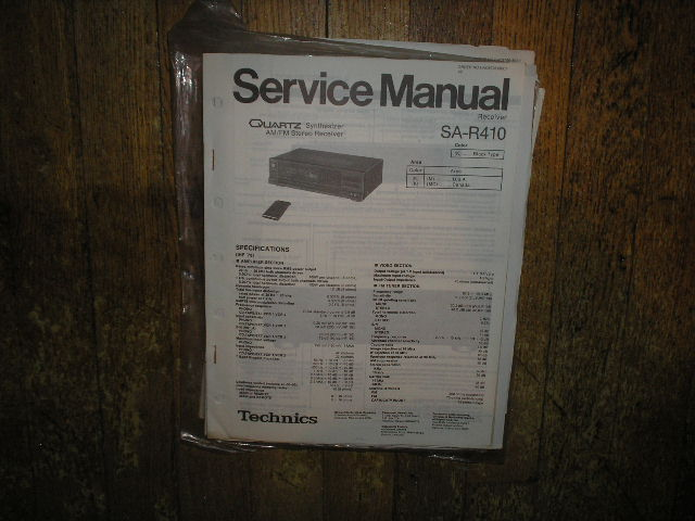 SA-R410 Receiver Service Manual