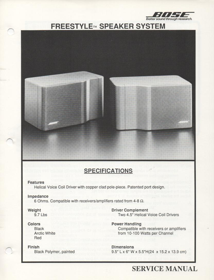 Interaudio Alpha Series Speaker System Service Manual