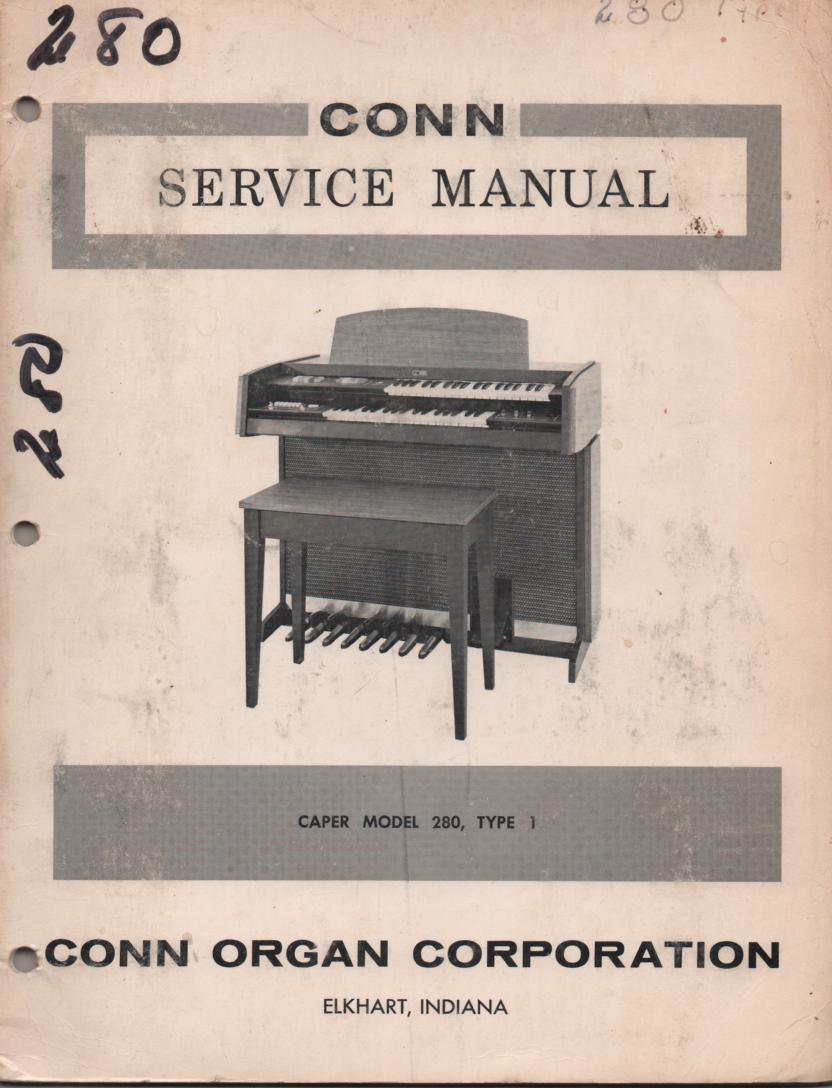 280 Caper Type 1 Service Manual