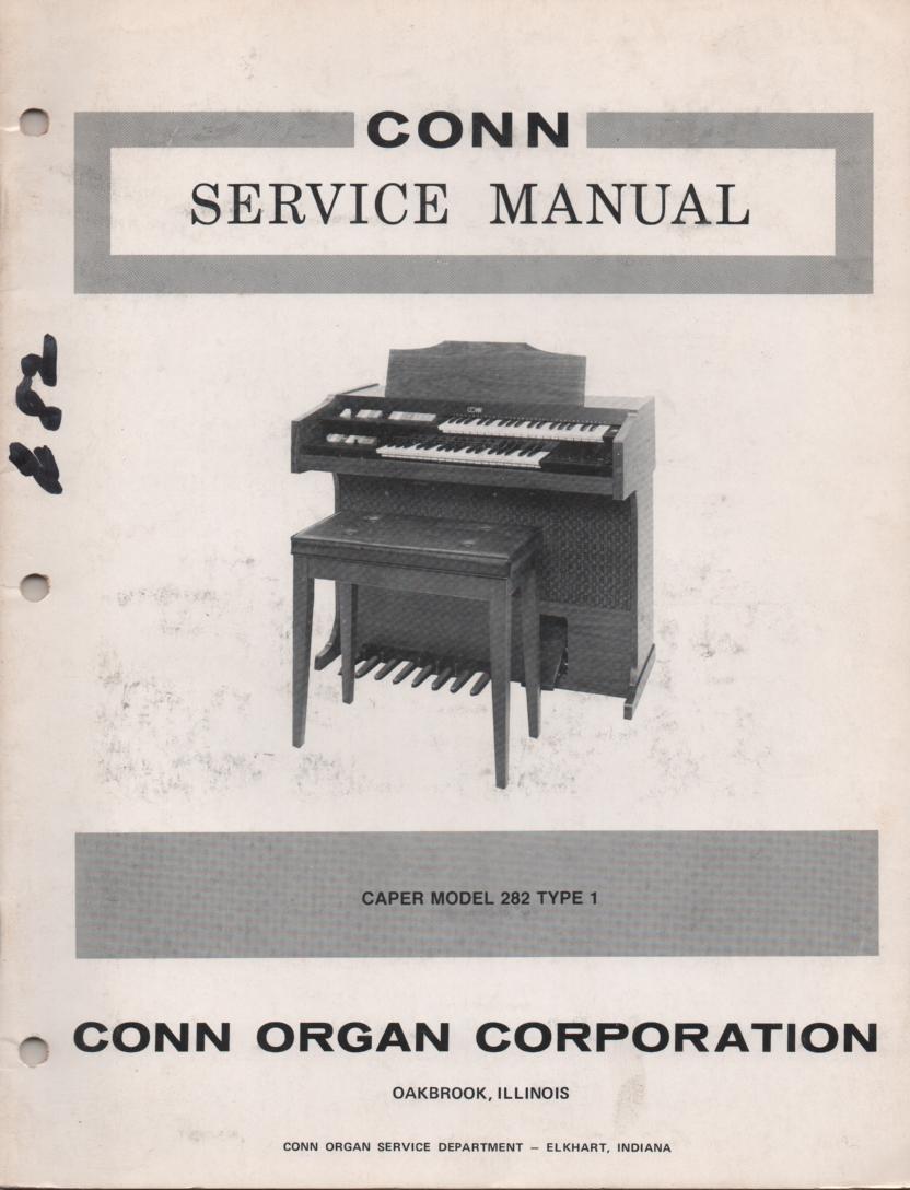 282 Caper Type 1 Service Manual