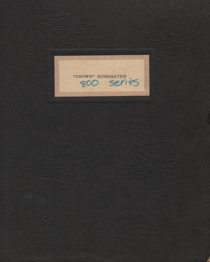 800 800C Series Schematics Service Manual
