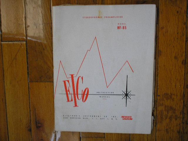 HF-85 Pre-Amplifier Service Instruction Manual