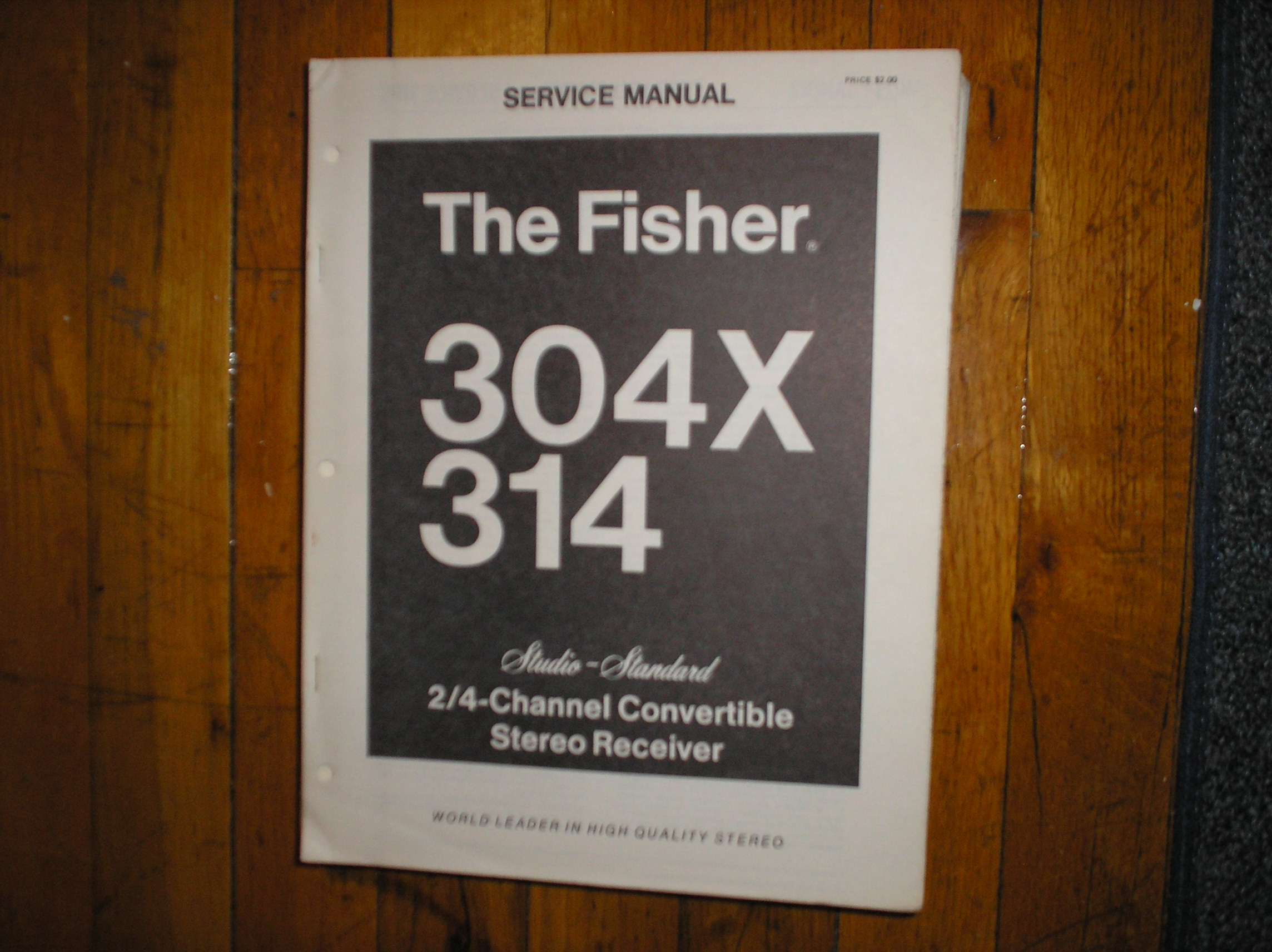 304X 314 Receiver Service Manual
