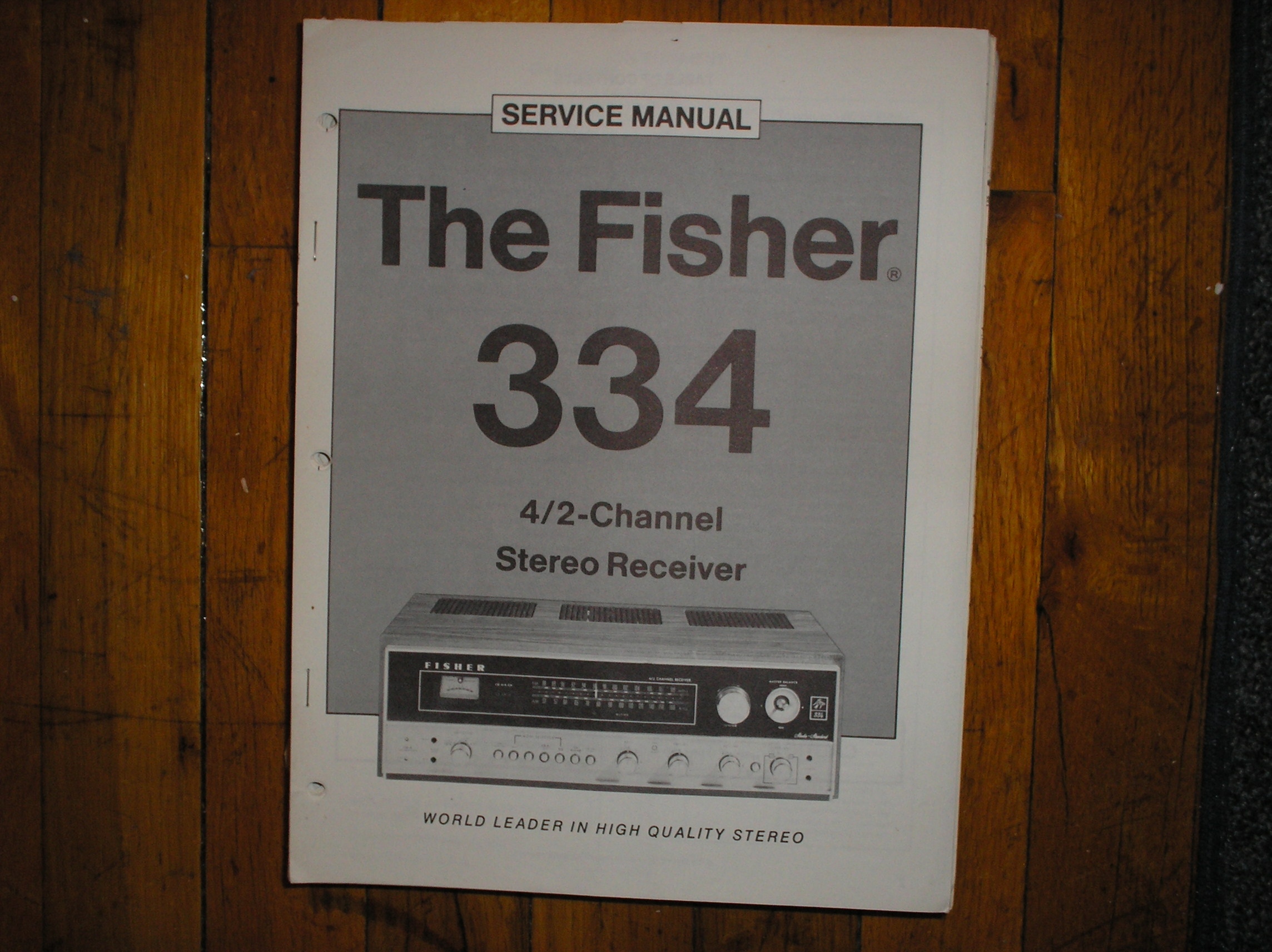 334 Receiver Service Manual