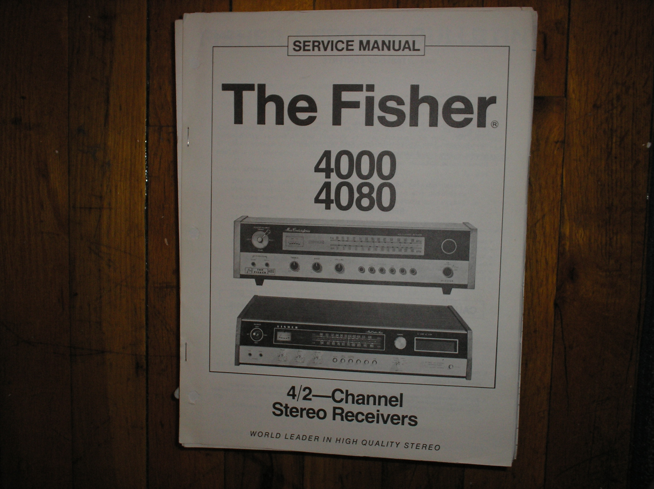 4000 4080 Receiver Service Manual