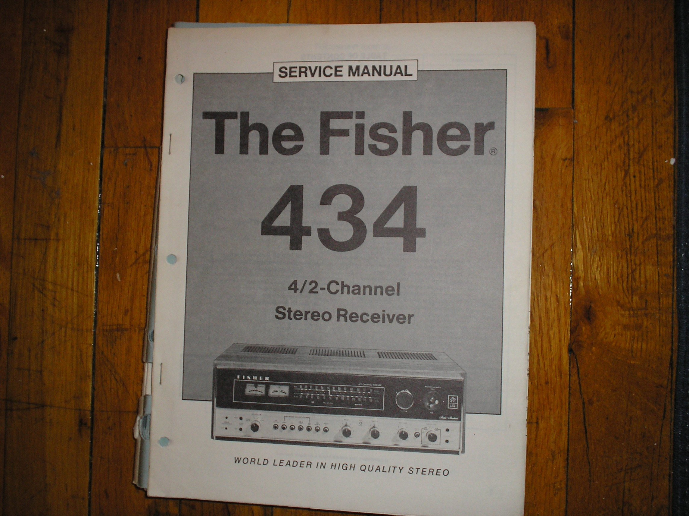 434 Receiver Service Manual