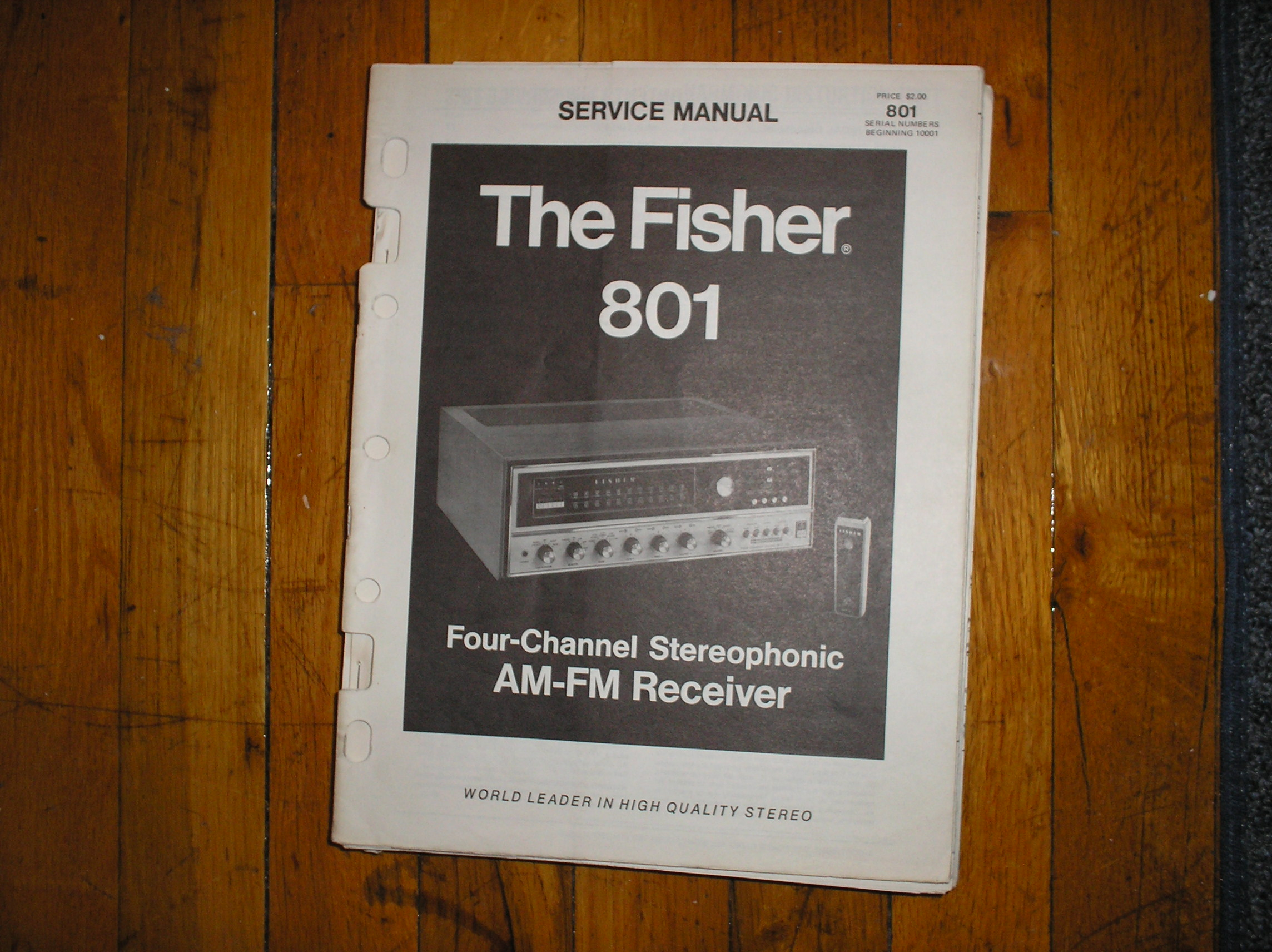 801 Receiver Service Manual