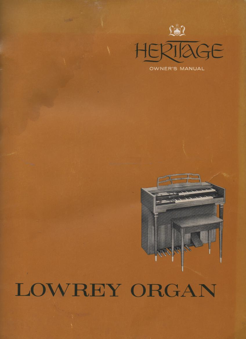Heritage Owners Manual