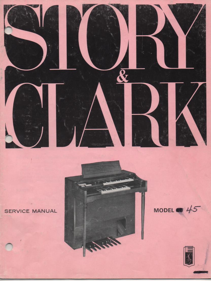40 45 Organ Service Manual