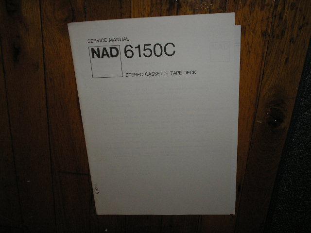 6150C Cassette Deck Service Manual