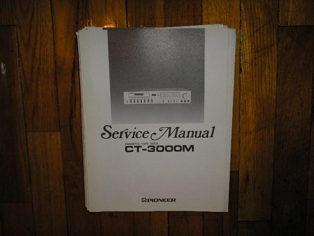 CT-3000M Cassette Deck Service Manual