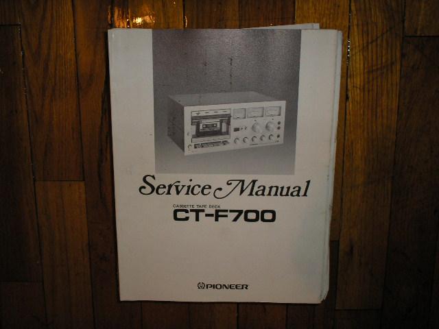 CT-F700 Cassette Deck Service Manual
