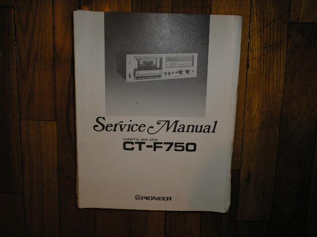 CT-F750 Cassette Deck Service Manual