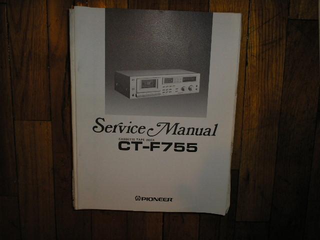 CT-F755 Cassette Deck Service Manual