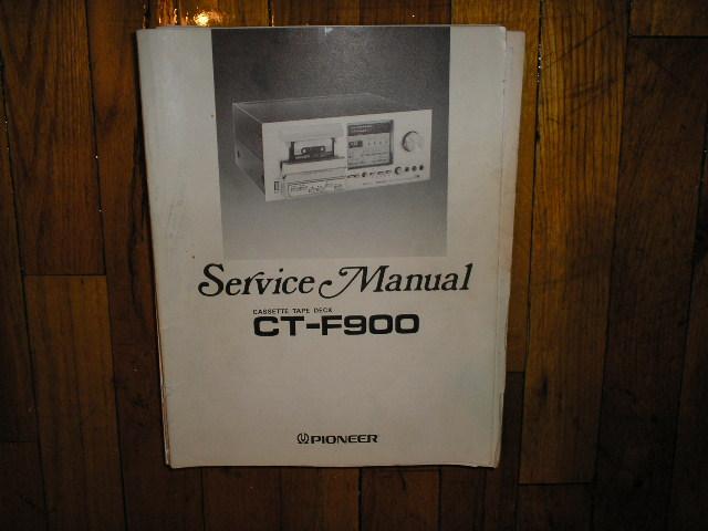 CT-F900 Cassette Deck Service Manual