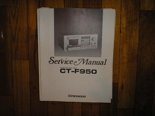 CT-F950 Cassette Deck Service Manual