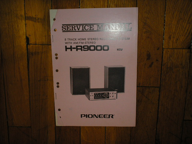 H-R9000 KCU Stereo System Service Manual