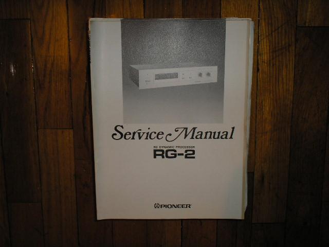 RG-2 Dynamic Processor Service Manual