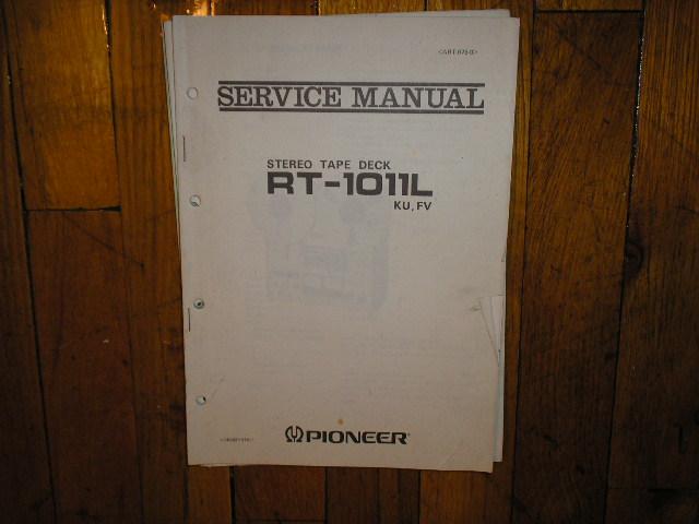 RT-1011L RT-1011L KU FV Reel to Reel Service Manual