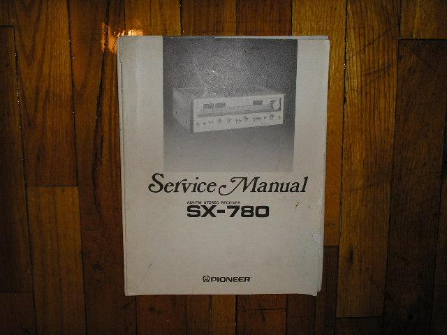 SX-780 Receiver Service Manual