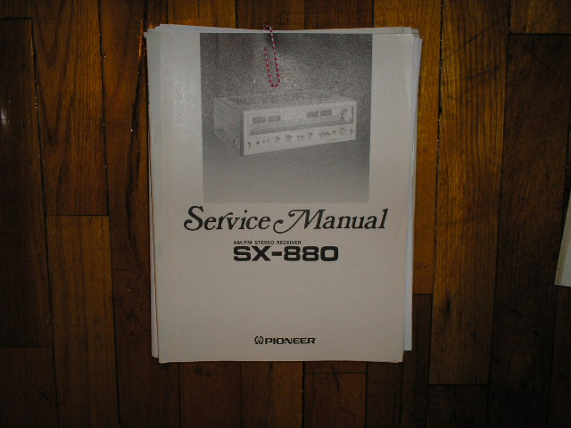 SX-880 Receiver Service Manual