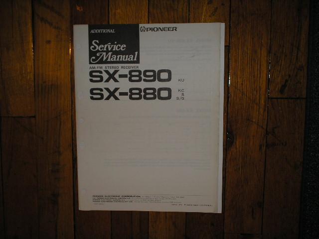 SX-890 Receiver Service Manual