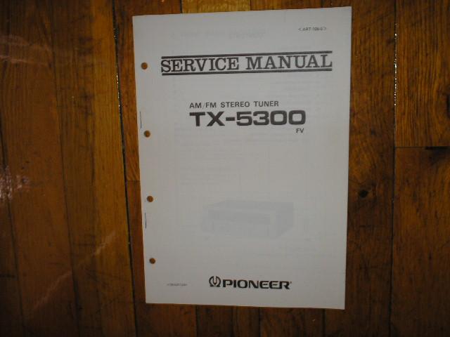 TX-5300 FV Tuner Service Manual