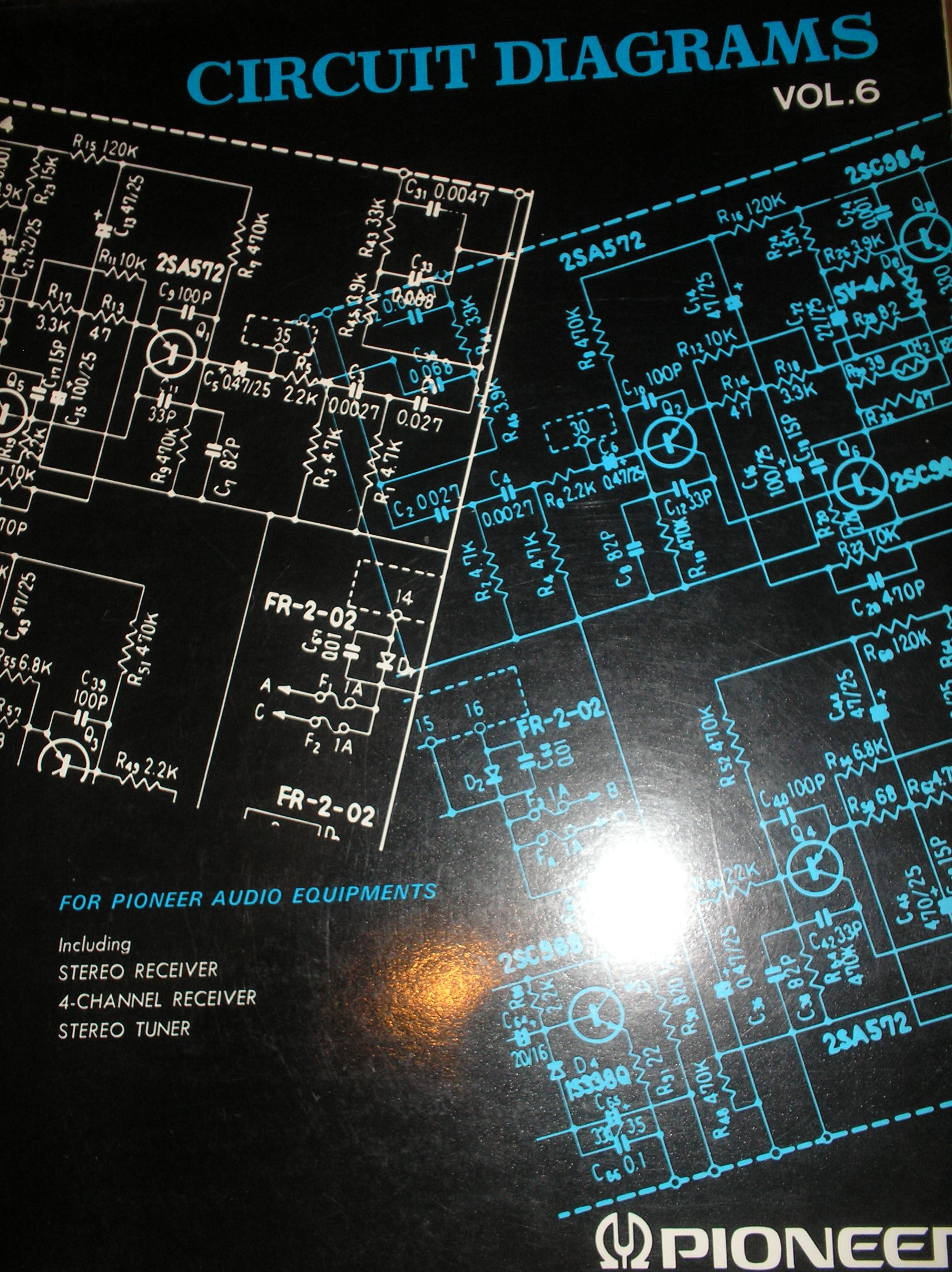 300 Stereo Receiver fold out schematics.   Book 6