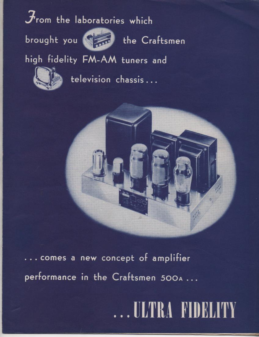500A Amplifier Service Manual