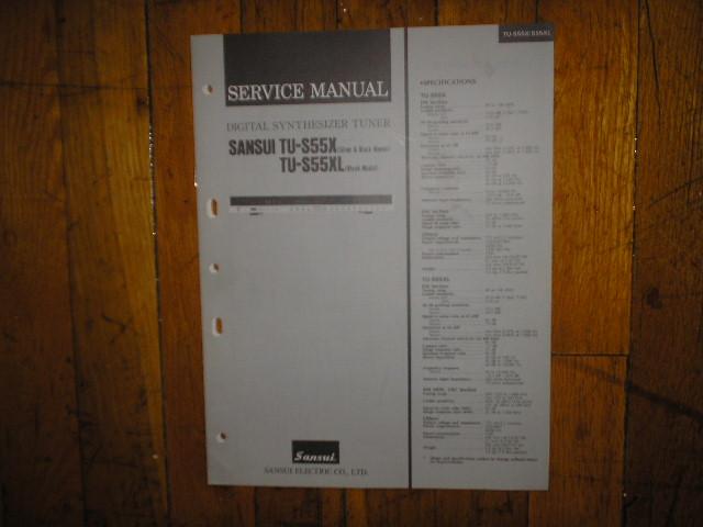 TU-S55X TU-S55XL Tuner Service Manual