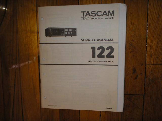 122 Cassette Deck Service Manual
