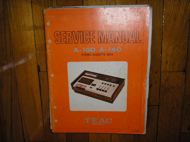 A-140 A-160 Cassette Deck Service Manual