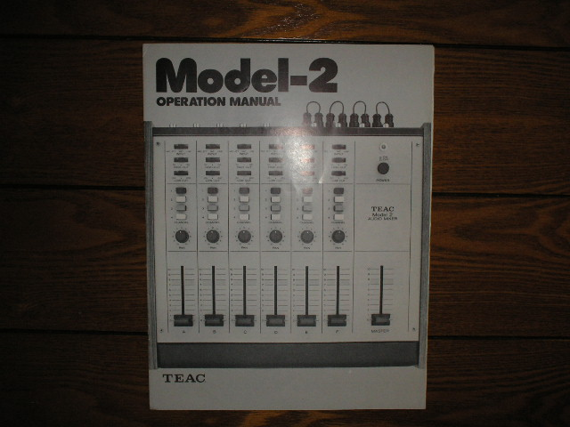 2 Model 2 Audio Mixer Owners Manual