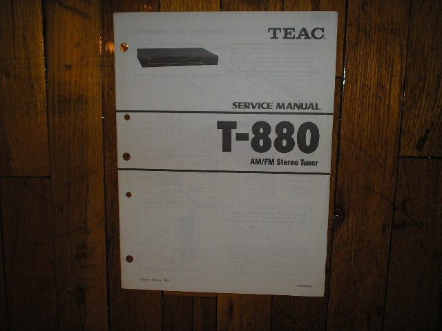 T-880 Tuner Service Manual
