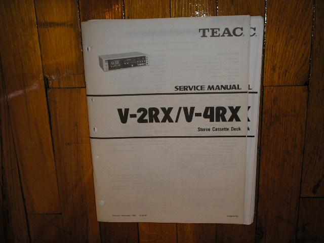 V-2RX V-4RX Cassette Deck Service Manual