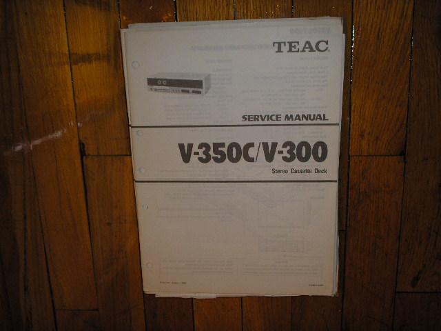 V-300 V-350C Cassette Deck Service Manual