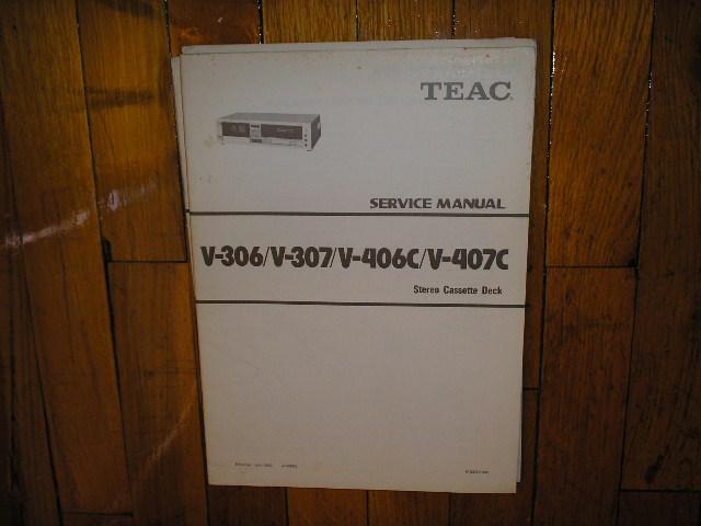 V-306 V-307 V-406C V-407C Cassette Deck Service Manual