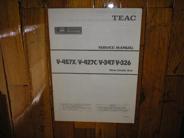 V-326 V-347 V-427 V-457X Cassette Deck Service Manual